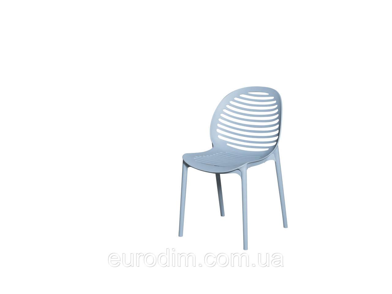 Стул пластиковый SPICE OW-241 blue