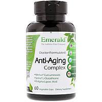 Антивозрастной комплекс, Emerald Laboratories, 60 растительных капсул