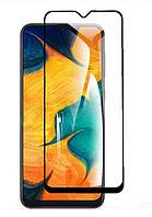 Защитное стекло LUX для Samsung Galaxy A30 2019 (A305) Full Сover черный 0,3 мм в упаковке