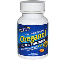 Ореганол P73, суперсильный, North American Herb & Spice Co., 60 мягких желатиновых капсул
