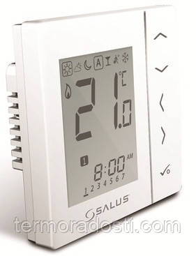 Salus VS10W терморегулятор программируемый (4в1)