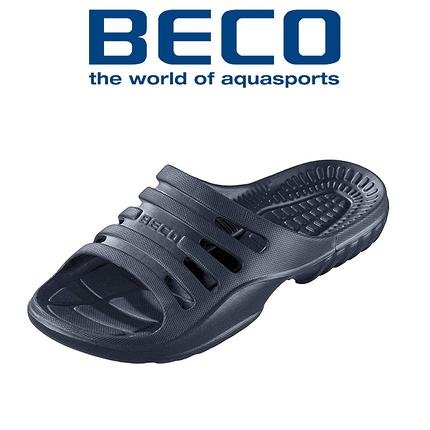 Тапочки пляжные мужские BECO 90653 7 тёмно-синий, фото 2