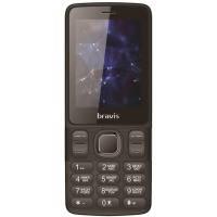 Мобильный телефон BRAVIS C240 Middle Dual Sim (черный)
