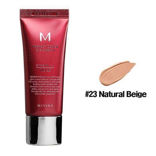ББ крем Missha 23 M Perfect Cover B.B Cream 20ml