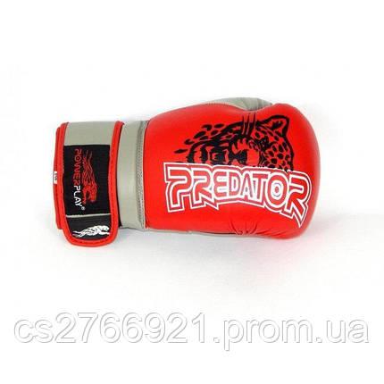 Боксерські рукавиці PowerPlay 3008 Червоні, фото 2