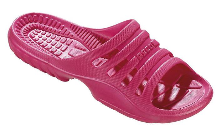 Тапочки пляжные женские BECO 90652 4 розовый, фото 2