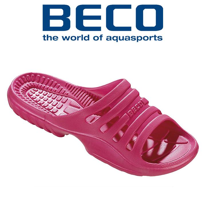 Тапочки пляжные женские BECO 90652 4 розовый