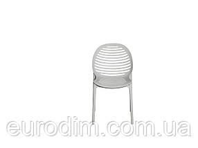 Стул пластиковый SPICE OW-241 light grey, фото 2