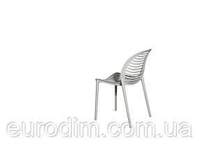 Стул пластиковый SPICE OW-241 light grey, фото 3