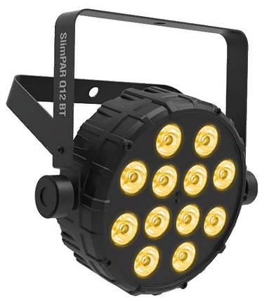 CHAUVET SlimPAR Q12 BT компактний прилад заливального світла з вбудованою бездротовою технологією Bluetooth, фото 2