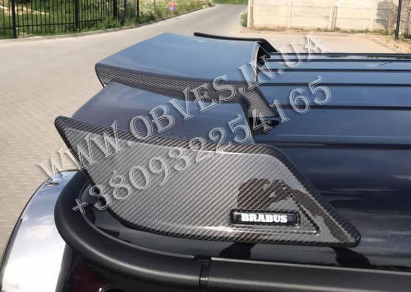 Карбоновий спойлер Mercedes G-class W463a/W464 стиль Brabus 2019