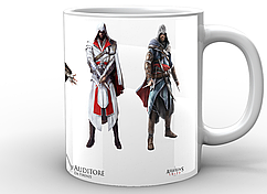 Кружка GeekLand белая Assassins CreedКредо Ассасинаглавный герой AC.02.04