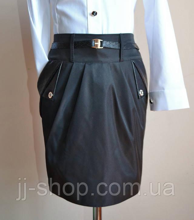 Детская школьная юбка для девочек