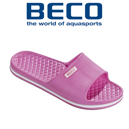 Масажні Тапочки жіночі BECO 90323 4, рожевий, фото 2