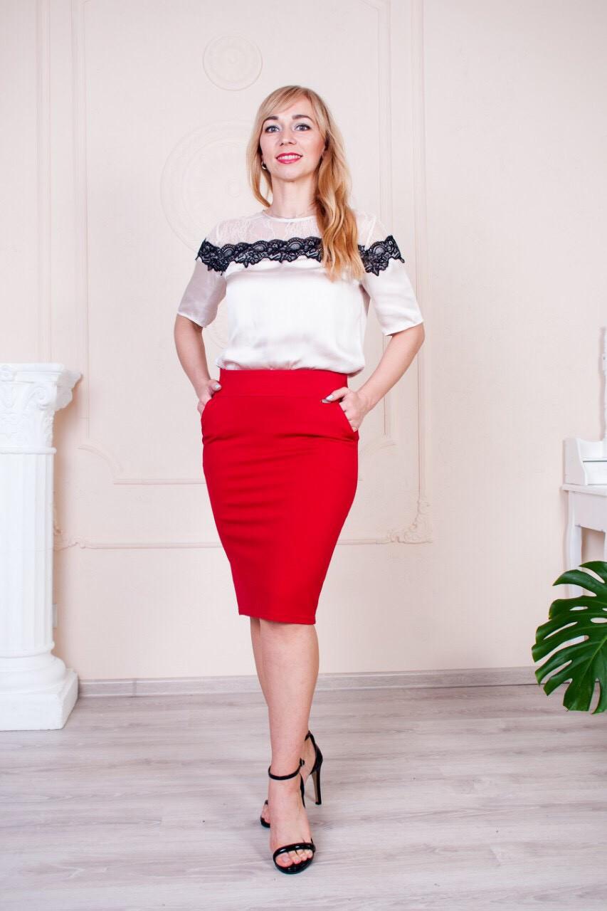 "Женская юбка ""Сандра"" размеры 44-54"