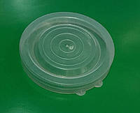 Крышка полиэтиленовая  белая, фото 1
