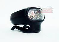 Светодиодный фонарик на бейсболку, кепку ✔ 3 светодиода