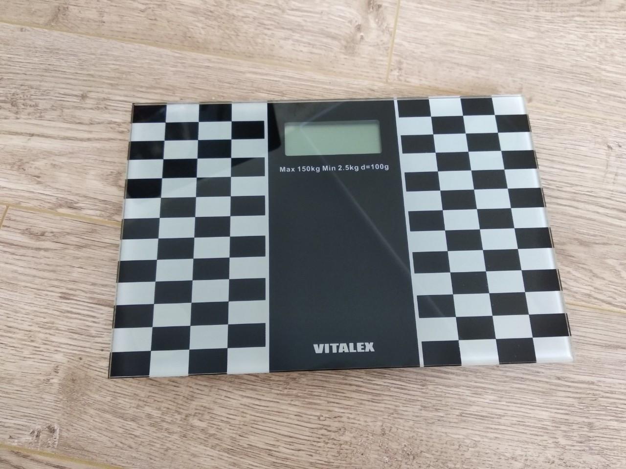 Весы напольные 150 кг Vitalex VL-201