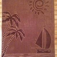 Пляжное полотенце 90/165см