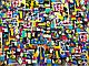 Парижанка яркая абстракция, фото 2