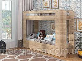 Двухъярусная кровать Олимп