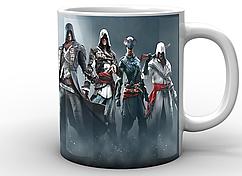 Кружка GeekLand белая Assassins CreedКредо Ассасинаперсонажи AC.02.05