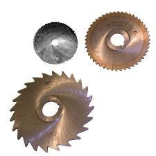 Фреза дисковая ф 125х2.0х22 мм Р6М5 z=64 отрезная, со ступицей, с ш/п Китай