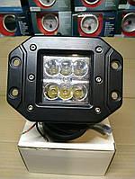 Светодиодные фары 18w 15-18 дальний  свет и ближний свет