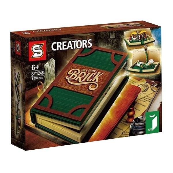 """Конструктор SY 1248 """"Раскрывающаяся книга"""" (аналог Lego Ideas 21315), 859 дет"""