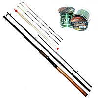 Фидерное удилище Bratfishing TAIPAN FEEDER +3 tips / 3.30M / 80-180 g