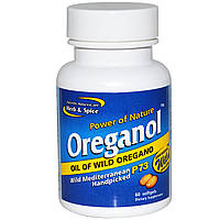 Ореганол P73, North American Herb & Spice Co., 60 мягких желатиновых капсул