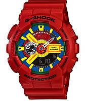 Мужские часы Casio G-Shock GA-110 красные, фото 1