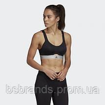 Женский спортивный бюстгальтер adidas STRONGER FOR IT SOFT (АРТИКУЛ: D93108 ), фото 2