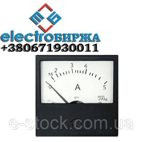 Амперметр Э8030, вольтметр Э8030