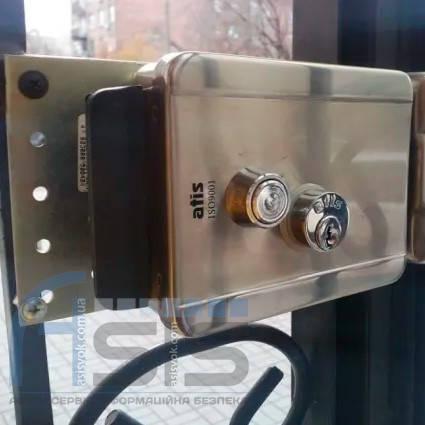 Установка электромеханического замка, фото 2