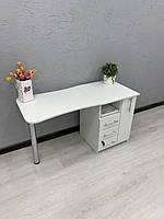 Маникюрный складной стол с вырезом на столешнице