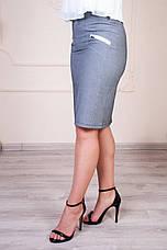 """Женская юбка """"Бриджит"""" размеры 44-52, фото 3"""