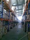Стелаж для палетних вантажів H4500хL1800х1100 мм (пол. + 3 рівня по 2000 кг на рівень), стелаж для палет, фото 6
