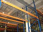 Стелаж для палетних вантажів H4500хL1800х1100 мм (пол. + 3 рівня по 2000 кг на рівень), стелаж для палет, фото 8