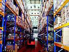 Стелаж для палетних вантажів H4500хL1800х1100 мм (пол. + 3 рівня по 2000 кг на рівень), стелаж для палет, фото 9