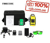 FIRECORE F93T-XG 3D зеленый лазерный уровень Сеть,аккамулятор,батарейки