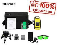 ОТКАЛИБРОВАН!!!  FIRECORE F93T-XG 3D зеленый лазерный уровень Сеть,аккамулятор,батарейки
