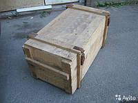 Ящики деревянный и деревянные с ДВП из под противогазов, фото 1
