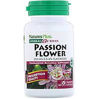 Nature's Plus, Рослинна активність, пасифлора, 250 мг, 60 капсул вегетаріанських