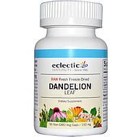 Лист кульбаби, Eclectic Institute, 150 мг, 90 рослинних капсул без ГМО