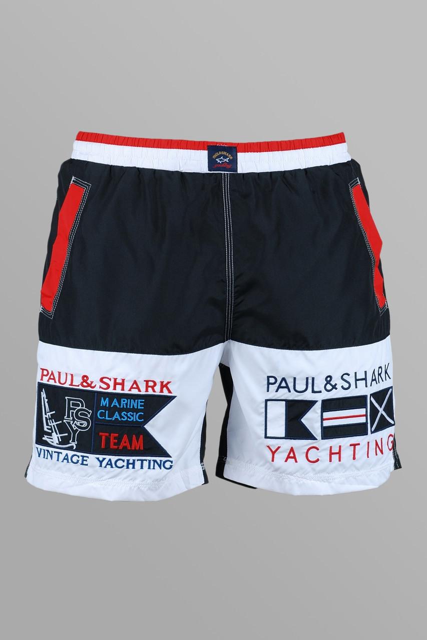 Шорты мужские Paul Shark R383 черные