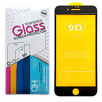 Защитное стекло 9D для Apple iPhone 7 Plus / 8 Plus (Black), фото 1