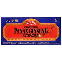 Экстракт китайского красного женьшеня, Imperial Elixir, 10 флаконов, по 0,34 жидких унции (10 куб. см)