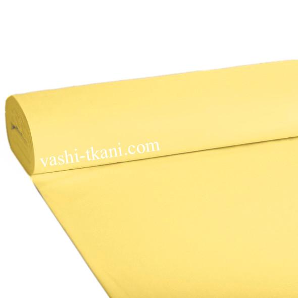 Ранфорс гладкокрашенный. Светло - желтый 100% хлопок.