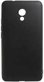 Силикон Meizu M5S black Soft Touch